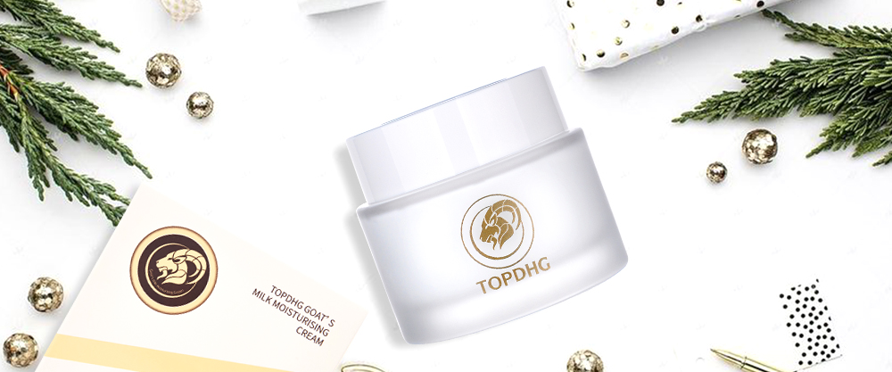 TOPDHG GOAT'S MILK MOISTURISING CREAM -Travelpharm Exclusive